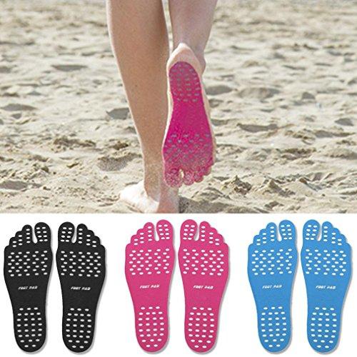 Cuscinetti Vengono Bastone Adesivo Furtiva Spiaggia Di Scarpe Morbidi Piedi Adesivi Gioco Koly Piedi Suole Blu AWx4fw0nf