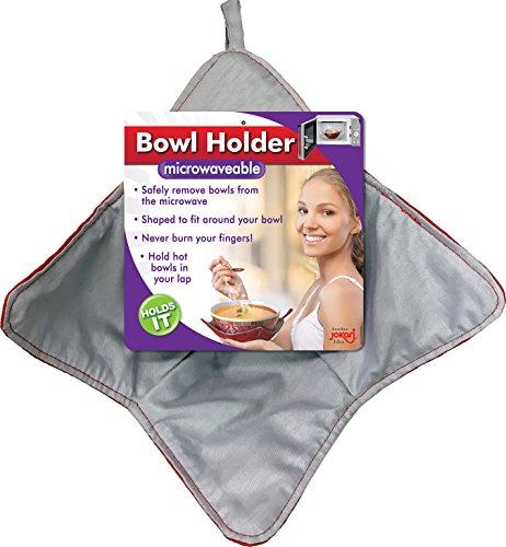 JOKARI Schalenhalter, mikrowellenfest und hitzebeständig Pad hält Hände kühl, während Sie warm beheizte Behälter, wiederverwendbar und waschbar, nie Wieder Ihre Finger Verbrennen 2 Pack rot