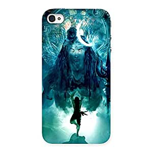 Ajay Enterprises Designer 101099 Printed Back Case Cover for iPhone 4 4s