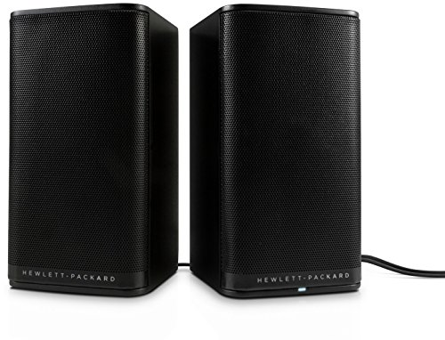HP 2.0 S5000 - Altavoces para ordenador de color Negro (PC, Mesa/estante,...