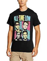 CID Men's All Time Low-Pop Art T-Shirt