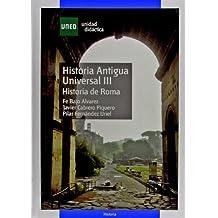 Historia Antigua Universal III. Historia de Roma (UNIDAD DIDÁCTICA)