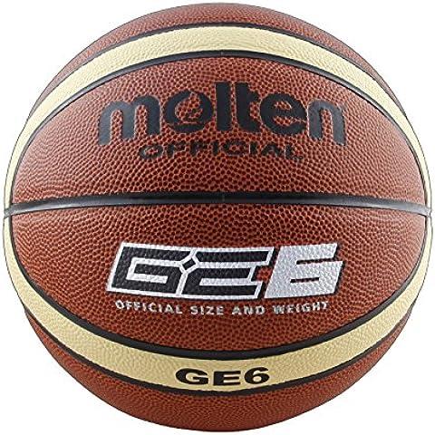 Molten BGM6 - Balón de baloncesto, color naranja, tamaño 6