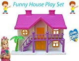 #8: Flipzon DIY Funny House Role Play Toy Set For Girls, Multi Color