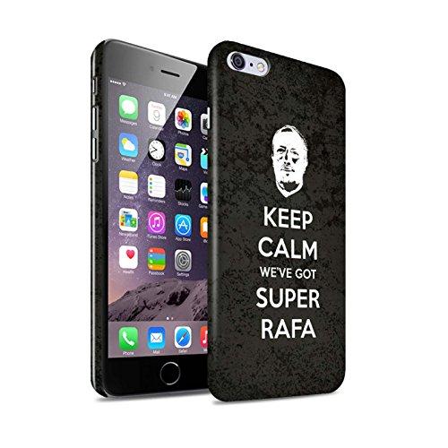 Offiziell Newcastle United FC Hülle / Glanz Snap-On Case für Apple iPhone 6S+/Plus / Pack 8pcs Muster / NUFC Rafa Benítez Kollektion Ruhig Bleiben