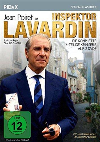 Bild von Inspector Lavardin / Die komplette 4-teilige Krimiserie von Claude Chabrol (Pidax Serien-Klassiker) [2 DVDs]