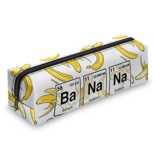 Astuccio Matita caso Portapenne Beauty case Pennarelli ed Accessori Scuola Banana chemistry [008]