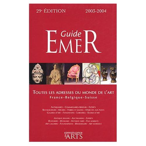 Guide Emer : France - Belgique - Suisse