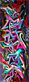 SPK0030- Sticker Porte Déco Tag Graffiti (83x204cm)