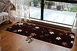 Love QAZ Schlafzimmer rosa Kirschblüten Wohnzimmer Teppich Bett Decke Bett Decke schwebende Fenster und Decke Waschbar Keine Staubentwicklung Teppiche (Farbe: #5)