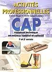 CAP Assistant Technique en Milieux Fa...