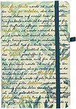 Notizbuch »Gott schenke dir Gelassenheit«: blanko, mit Leseband, Stifthalter und Einstecktasche -