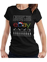 Coto7 I Bought This Christmas Jumper On Ebay Womens T-Shirt