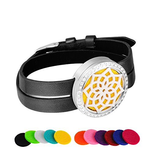 hooami-aromatherapy-oil-diffuser-bangle-bracelet-with-pu-leather-double-watch-bands-crystal-lotus-si
