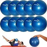 MSD 10 Pièces 26 cm Flexible+2 Prises+Paille Balle - Pilates Gym Yoga Gym Doux sur...