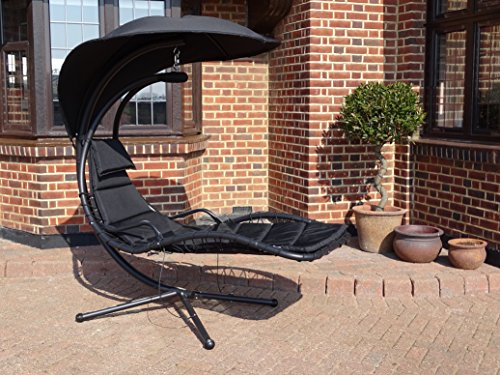 Horizon Deluxe Helicopter Dream Chair Black