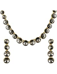 [Sponsored]Ananth Jewels Made With Swarovski Elements Crystals Necklace And Earrings For Women