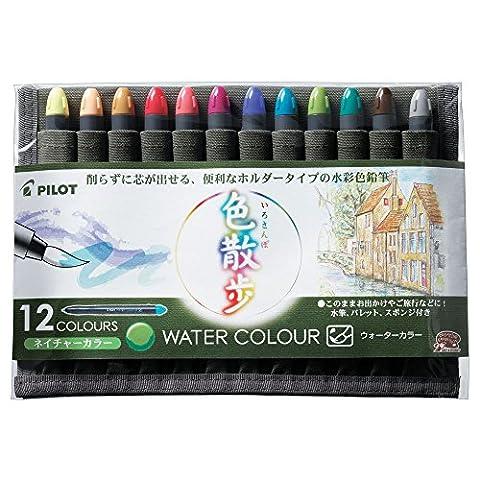 Pilot Wasser Farbe 12 Farbsatz Farbe Natur zu Fu_ AW-WC3-S12N (Japan-Import)
