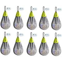 Pack of 3 Breakaway Tackle NEW Impact Flatty Lead Weights 85g
