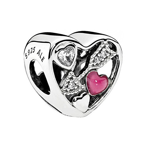 Pandora Damen -Bead Charms 925 Sterlingsilber 792039CZ