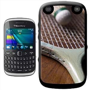 Vieille raquette de Badminton en bois de 12 volants en plumes d'oie &Coque arrière rigide à clipser pour Blackberry 9320 Curve