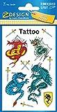 AVERY Zweckform 56404 Kinder Tattoos Drachen (temporäre Transferfolie, dermatologisch getestet) 11 Aufkleber