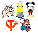 #8: Super Mario Set of Stickers for Guitar,Laptop and Skateboard