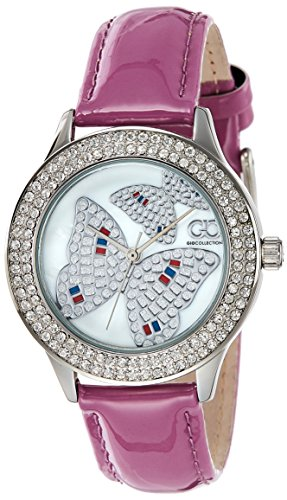 Gio Collection Analog White Dial Women's Watch - G0054-03 image