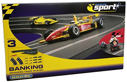 Scalextric - C8297 - Circuit - Voiture - Courbe Relevé 4° R3
