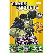 Transformers Prime. Limpieza robótica: Contiene 7 cómics. (Cómics robóticos)