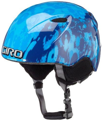 Giro Kinder Helm Slingshot, blue robots, S 49-52 cm, 2026604 -