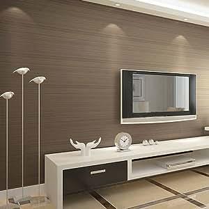 wandtapete einfach kaffee schimmern tapete l ngsstreifen wohnzimmer schlafzimmerw nde f r. Black Bedroom Furniture Sets. Home Design Ideas