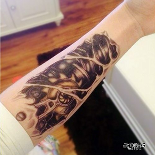 artist-temporary-tattoo-water-transfert-mechanic-2-artwear-tattoo-mechanical-b0024-m
