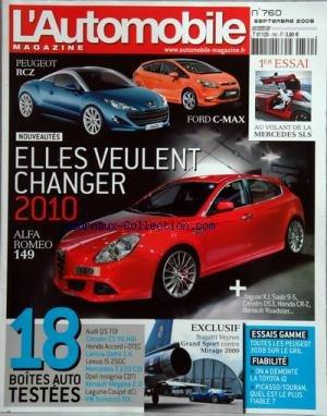 automobile-magazine-l-no-760-du-01-09-2009-1er-essai-au-volant-de-la-mercedes-sls-elles-veulent-chan