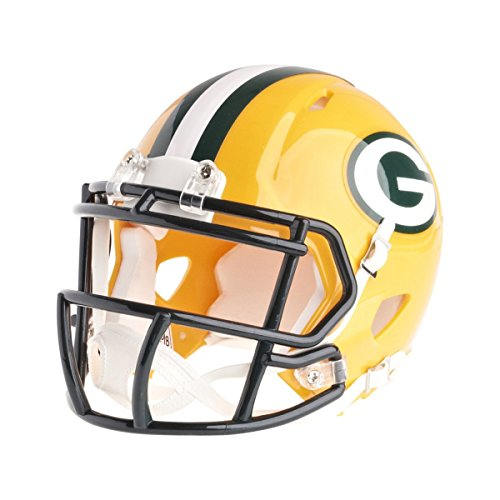 Riddell Mini Football Helm - NFL Speed Green Bay Packers (Mini Helm Packers)