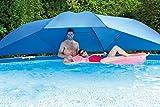 Pool Abdeckung Sonnendach Sonnenschirm für Stahlrahmen Pool Frame Pool 3,66-5,49m Sonnenschutz