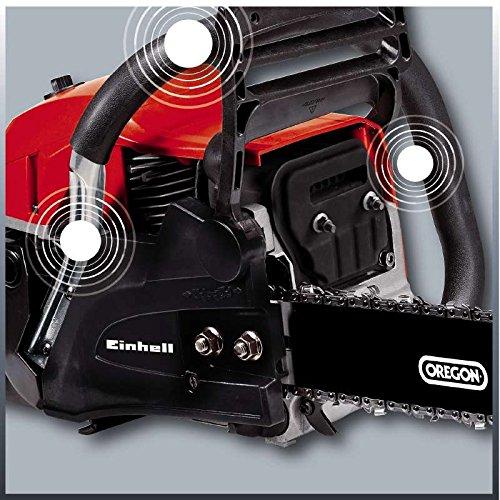 Einhell Benzin Kettensäge GC-PC 2040 I (2 kW, 40 cm Schwertlänge, 21 m/s Schnittgeschwindigkeit, automatische Kettenschmierung, inkl. Schwertschutz) - 3