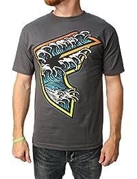Famous Stars & Straps Men's Wave BOH Graphic T-Shirt