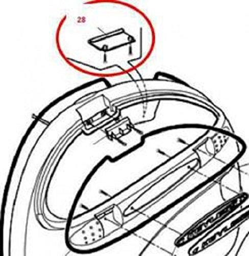 Preisvergleich Produktbild Givi Einhackplättchen für Kofferschloß Keyless E41