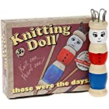 WOODEN FRENCH KNITTING DOLL SET WITH WOOL CHILDREN GIFT CRAFT