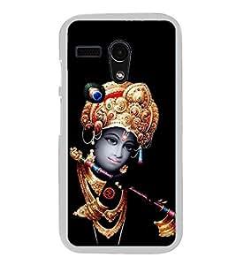 Krishna 2D Hard Polycarbonate Designer Back Case Cover for Motorola Moto G :: Motorola Moto G (1St Gen)