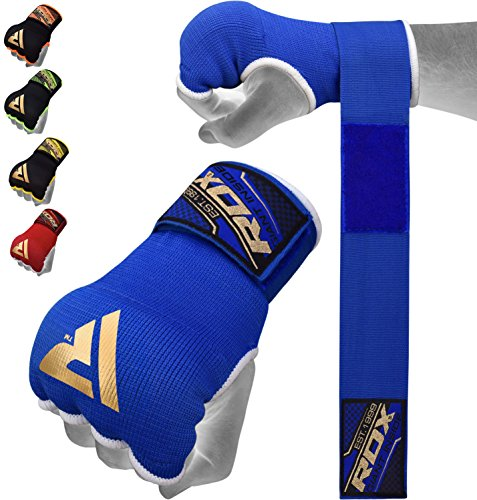 RDX Cinta Boxeo Vendas Mano Muñeca Elasticas Interiores Guantes MMA...