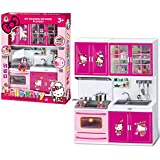 Fun Toys India Little Chef Kids Kitchen Play Set (Cooking Kitchen Set Play Toy) (FTI-13)