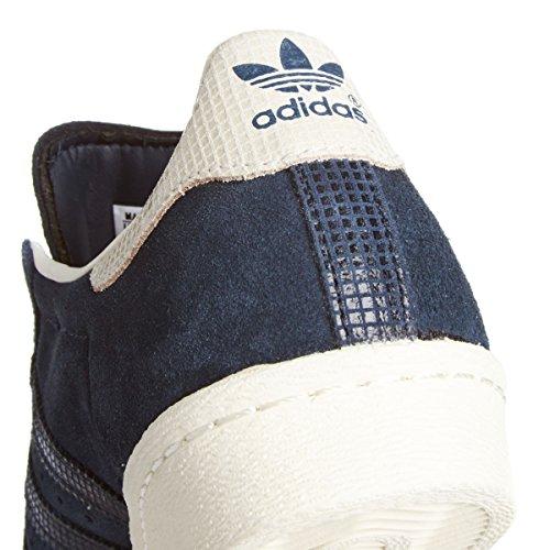 Adidas Superstar 80's Femme Baskets Mode Bleu Bleu