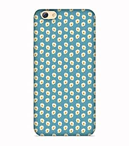 Printvisa Dots Round Gol Patterns Designer Hard Back Case For Oppo F3