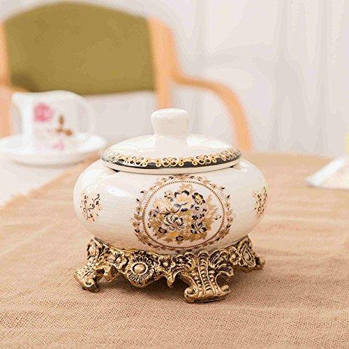 Preisvergleich Produktbild Keramikascher mit kreativen Ice Cracking Hauptdekorationen Personalisierte Wohnzimmer Tisch Couchtisch
