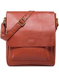 LEABAGS Ely sac bandoulière rétro-vintage en véritable cuir de buffle