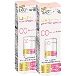 Diadermine Lift+ CC Soin Anti-Taches Flacon de 30 ml - Lot de 2