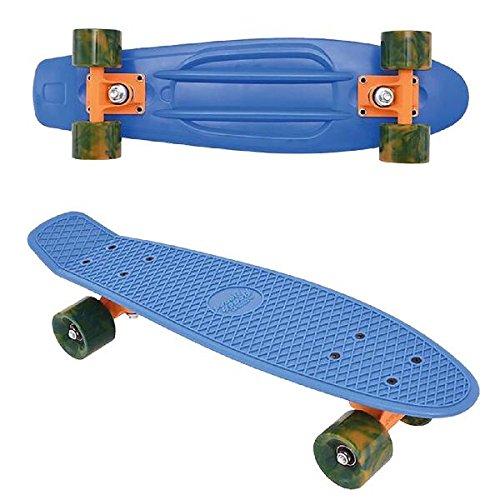 Streetsurfing Beach Board Retro Skateboard, Ocean Breeze Blue, 500214 -