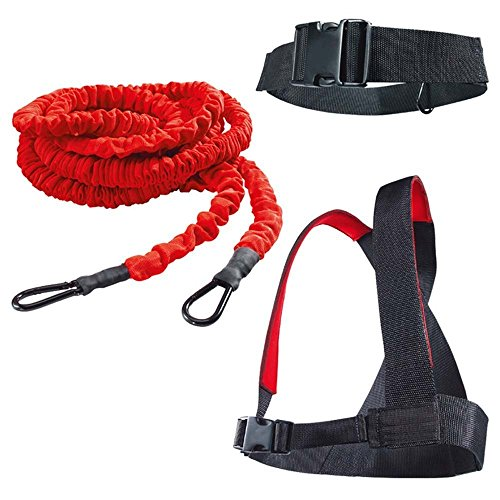 Ynxing, elastico con imbracatura per esercizi di forza, velocità e resistenza
